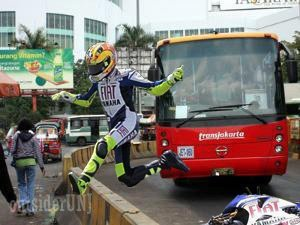 just+rossi Beginilah Bila Valentino Rossi Balap Di Indonesia