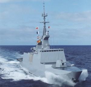 kapal perang  La Fayette