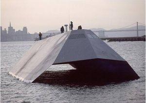 kapal perang tercanggih sea Shadow