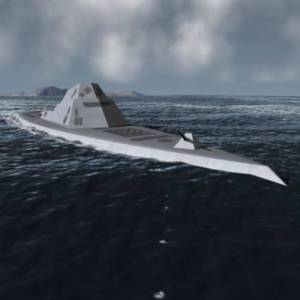 kapal perang tercanggih DD-21 Zumwalt